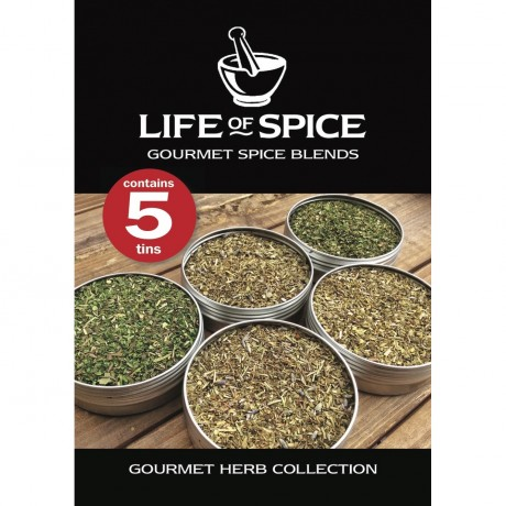 Gourmet Herb Collection tag