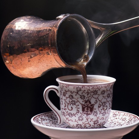 Handmade Copper Cezve (Turkish Coffee Pot)