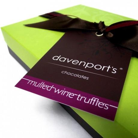 Mulled Wine Christmas Chocolate Truffles