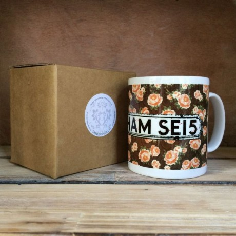 Rose Personalised Mug