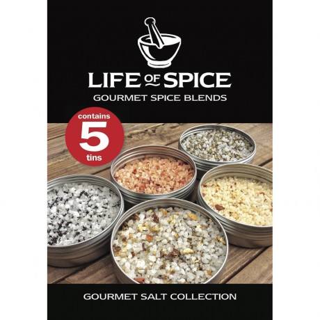 Gourmet Salt Collection Tag