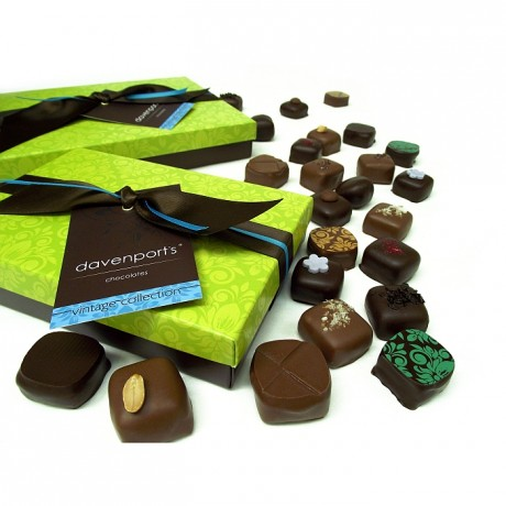 Davenport's Artisanal Chocolate Collection
