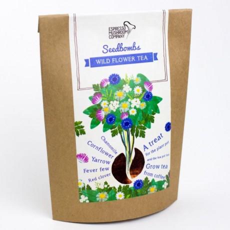 Wild Flower Tea Seedbomb - Grow Your Own Wild Flowers
