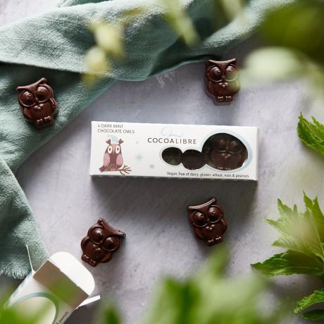 Dairy Free Mint Rice Milk Chocolate Owls (12 mini packs)
