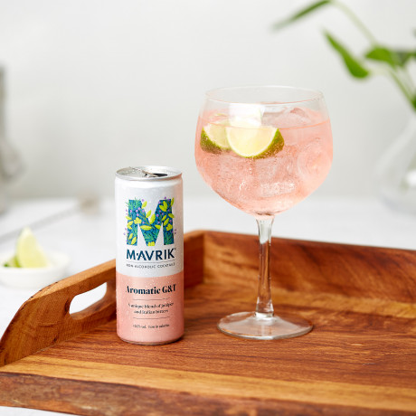A very pretty and tasty aromatic G&T