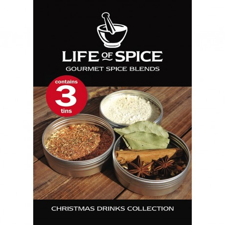 Christmas Drinks Spice Collection tag