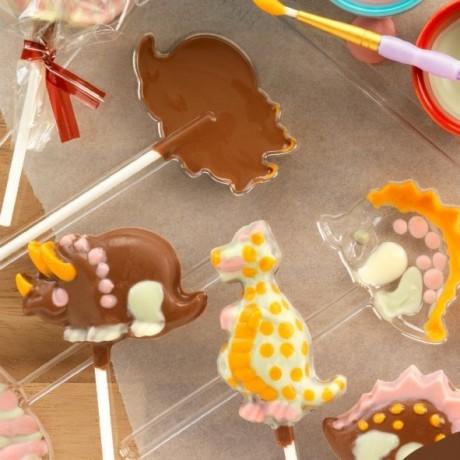 Dinosaur Chocolate Lollipop Kit