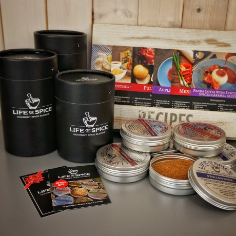 3/4/5/6 Tin Gourmet Spice Selection