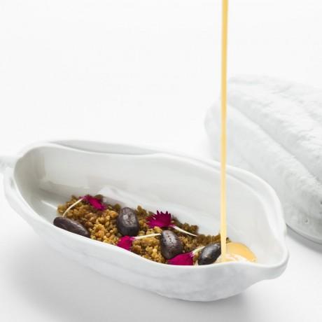 Porcelain Cocoa Pod