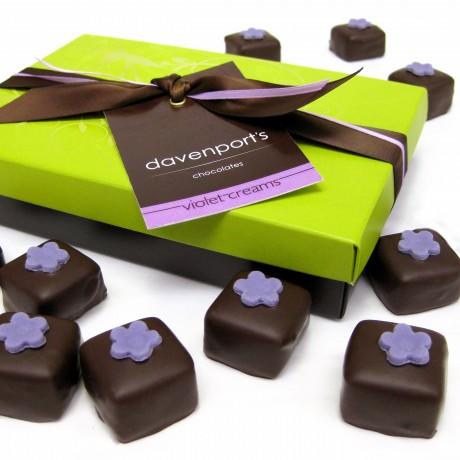Artisanal Chocolate Violet Creams