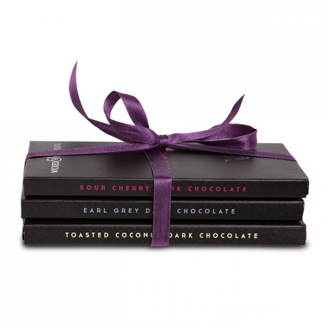 Dark Chocolate Lovers Selection (3 Bars)