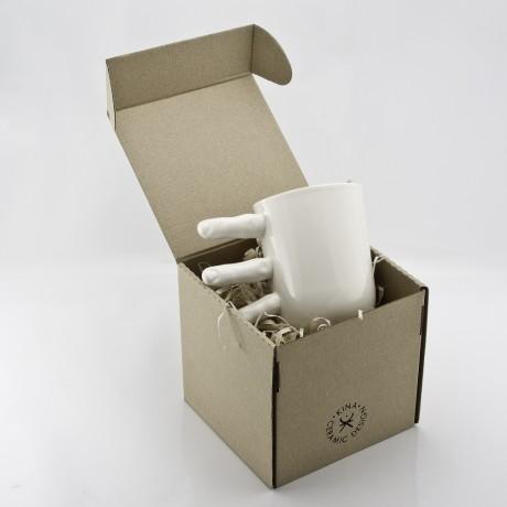 Porcelain Fingers Mug