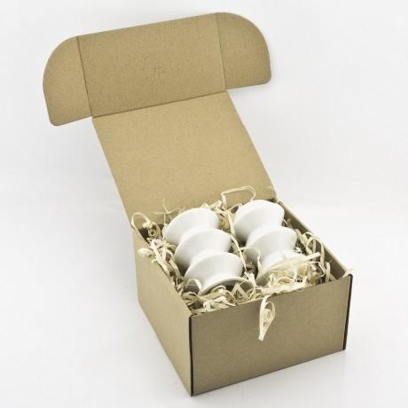 White Porcelain Salt and Pepper Shakers