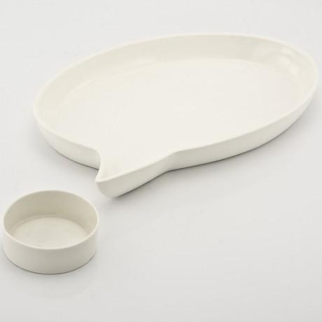 Bespoke Porcelain Speech Bubble Plate