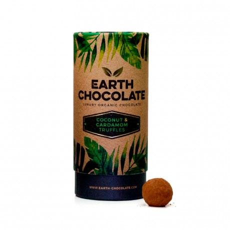 Coconut & Cardamom Organic Truffles