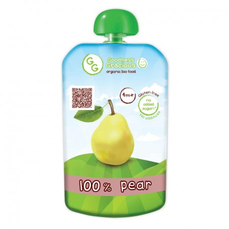 Organic Pear Puree