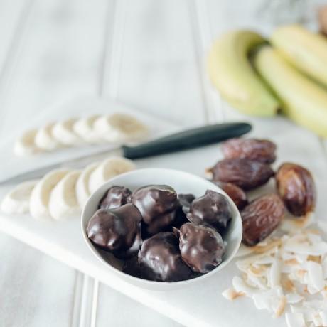 Choco Banananut Bites