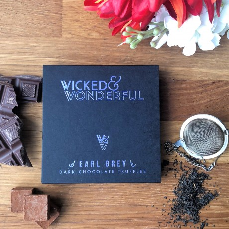 Earl Grey Dark Chocolate Truffles