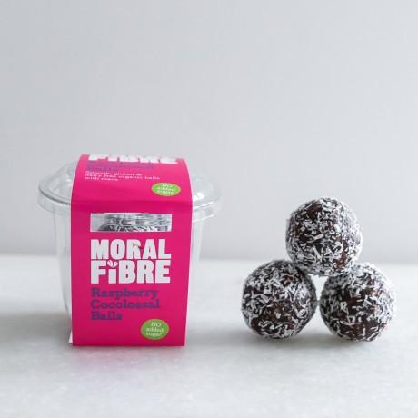 Raspberry Cocolossal Balls Pot