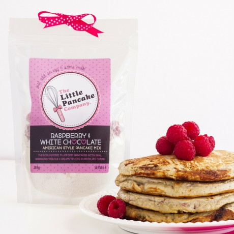 2 Raspberry & White Chocolate Pancake Mixes