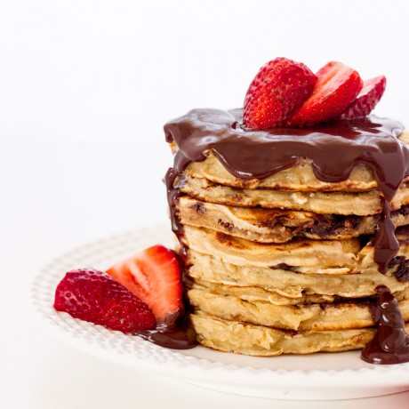 2 Triple Chocolate Pancake Mixes