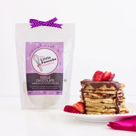 2 Triple Chocolate Pancake Mixes