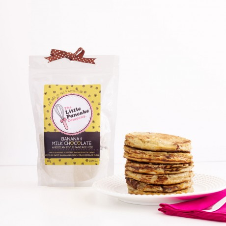 2 Banana & Milk Chocolate Pancake Mixes
