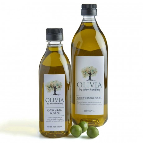 OLIVIA EXTRA VIRGIN OLIVE OIL ARDEQUINA 500ML BY ADAM HANDLING