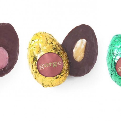 3 Raw Chocolate Easter Eggs