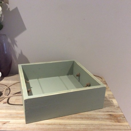 small tray on willow green