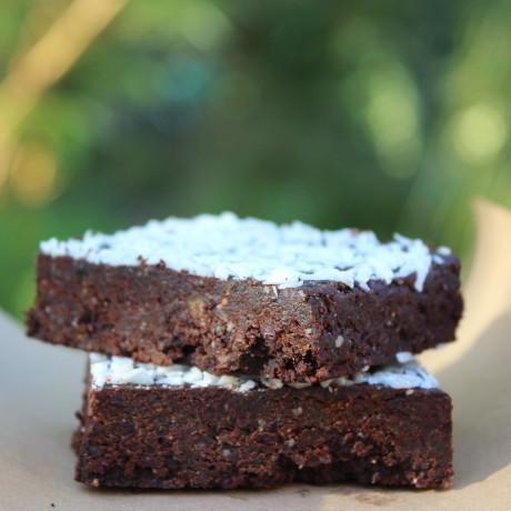 Raw Vegan Hemp Brownies