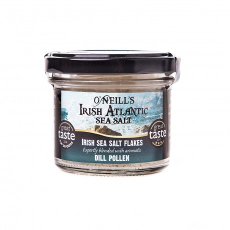 DILL POLLEN INFUSED IRISH ATLANTIC SEA SALT (70G)