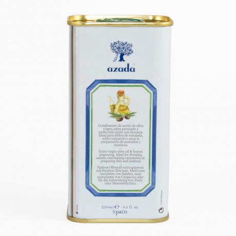 Azada Lemon Flavoured Extra Virgin Olive Oil