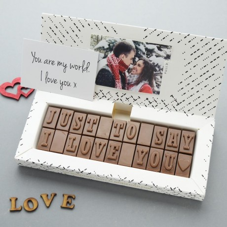 chocolate gift for him
