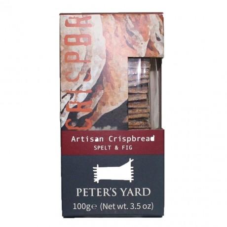 PETER'S YARD SPELT & FIG CRISPBREAD 100G