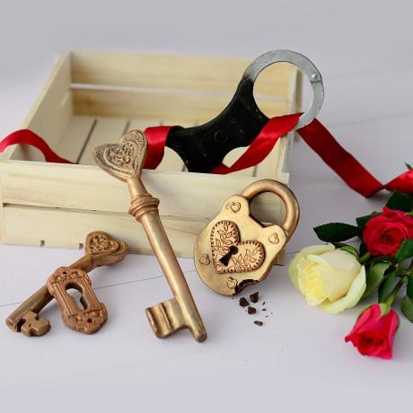 Chocolate Heart Key