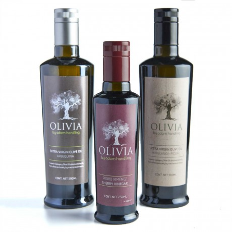 Selection of Adam Handlings Olive oils