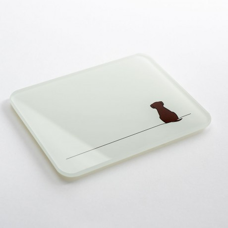 Sitting Dog Coasters