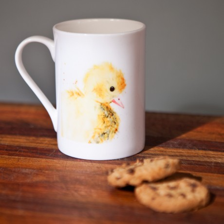 Inky Duck Fine Bone China Mug