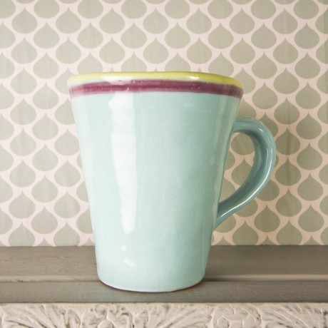 Hand painted Amalfi design mug