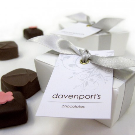 Davenport's Chocolates Wedding Favour