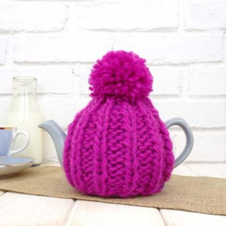 Fuchsia Pink 2 Cup Tea Cosy