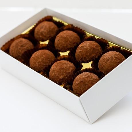 Hazelnut Praline Truffles