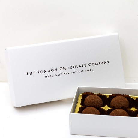 London Chocolate Company - Hazelnut Praline Truffles