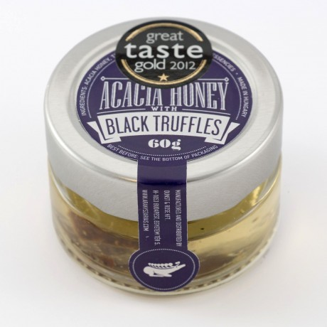 Acacia honey with Black truffles 60g