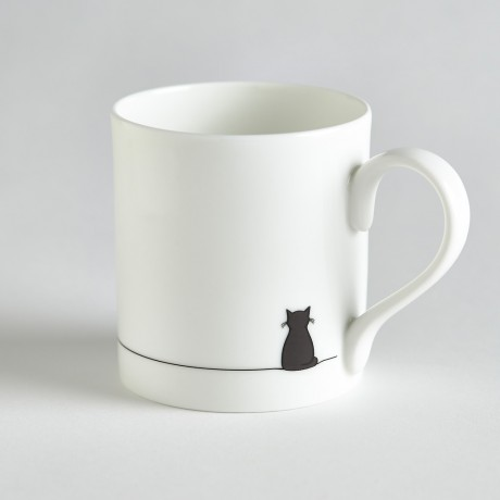 Sitting Cat Mug