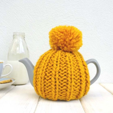 Mustard Yellow 2 Cup Tea Cosy