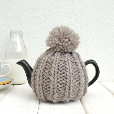 Oatmeal 2 Cup Tea Cosy
