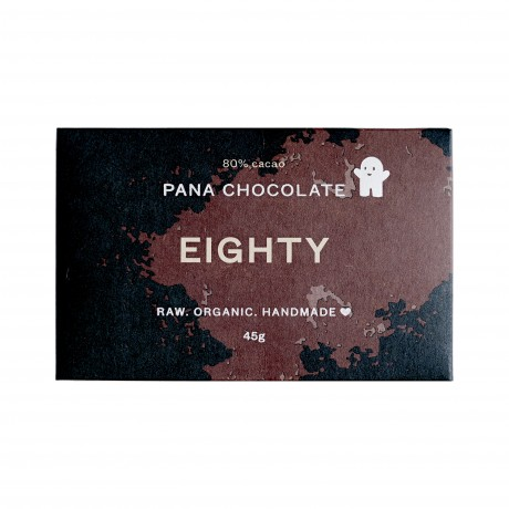 Raw 80% Cocoa Chocolate Bars (3 bars)