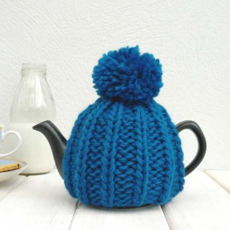 Petrol Blue 2 Cup Tea Cosy